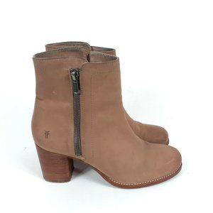 Frye Addie double zip boot 8.5
